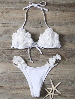 Stereo Flower Bikini Swimwear